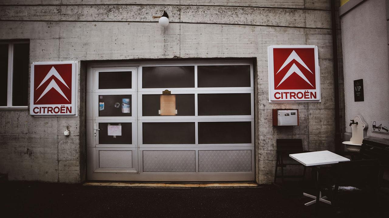 Oldtimer-Garage