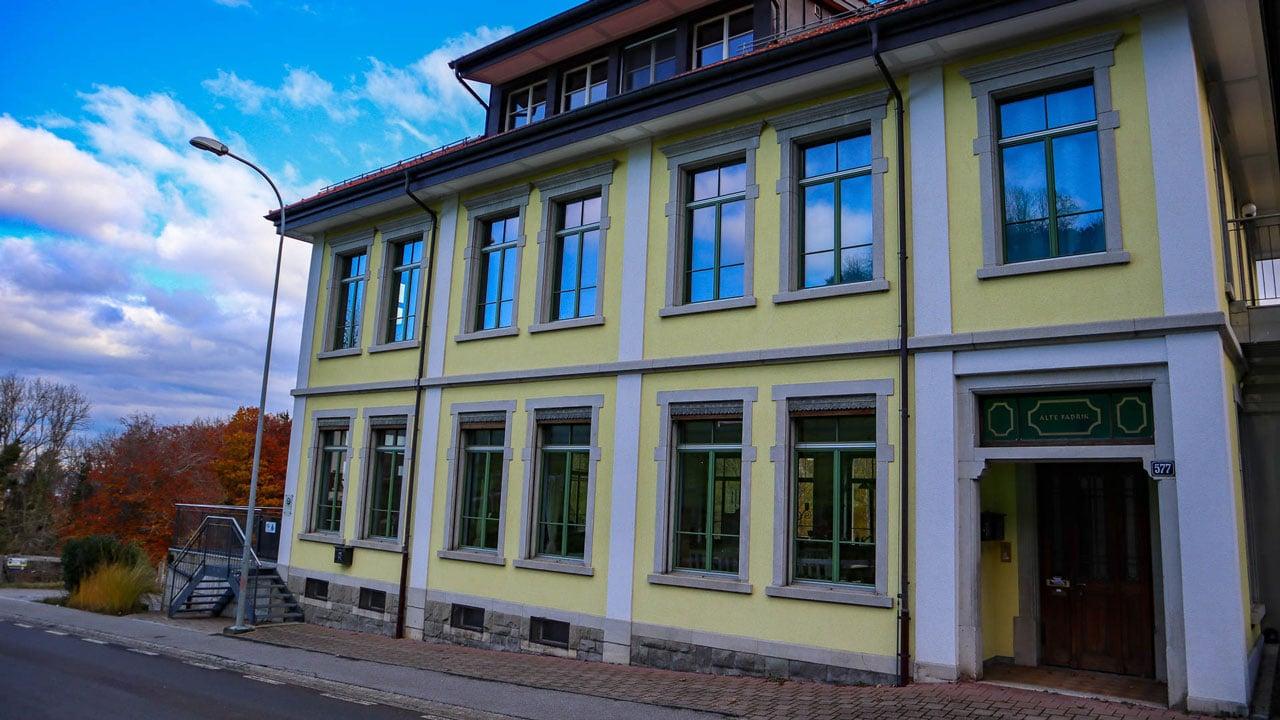 Alte-Fabrik in Walzenhausen